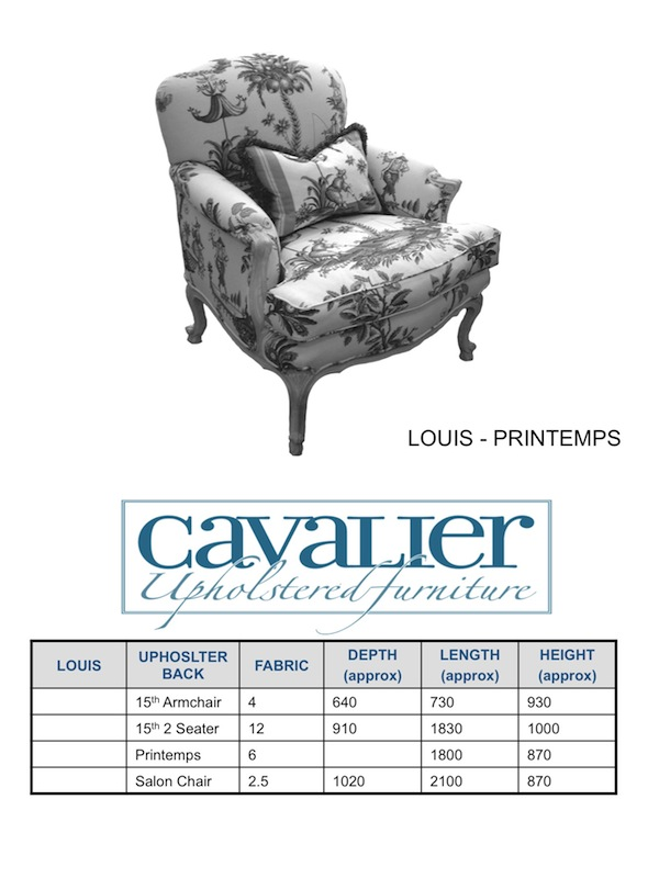 Louis - Printemps Chair