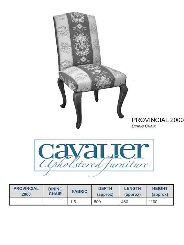 Provncial 2000 Dining Chair